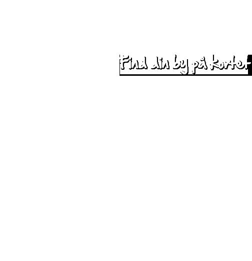 Find din by på kortet